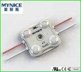 2LEDs módulo impermeável ao ar livre 12V do diodo emissor de luz do PWB SMD 2835