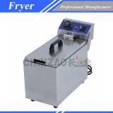Friteuse électrique à réservoir unique de puces (DZL-061B)