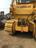 Gatto usato D7g con il bulldozer dell'argano (trattore a cingoli D6 D7 D8K con l'argano)