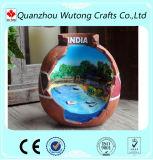 Presente Handmade das lembranças de India da resina feita sob encomenda para a decoração Home