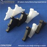 Tallas de encargo de Qinuo blancas y protector de borde plástico negro del vector