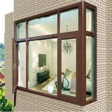 Dos frames de madeira do alumínio da cor do projeto do tamanho do balcão de DIY indicador de vidro do balanço do Casement