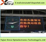 Étalage d'écran polychrome d'intérieur de P6 DEL annonçant le panneau-réclame de module
