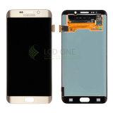 Экран LCD мобильного телефона для края галактики S6 Samsung плюс