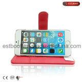 Caixa de couro do telefone móvel para o iPhone 7/7 de preço da fábrica positivo de /8