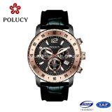 2016 Logo vendedor caliente de acero inoxidable relojes de cuarzo reloj personalizado