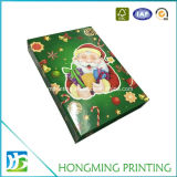 도매 Foldable 마분지 광택 있는 끝마무리 크리스마스 선물 상자