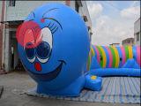 Stuk speelgoed van de Cursus van de Hindernis van de Tunnel van de rupsband het Opblaasbare Interactieve (T5-210)