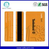 F08/S50チップが付いているカスタマイズされた印刷の磁気ストライプのスマートカード