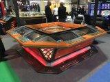 Máquinas automatizadas casino en línea libre de la ruleta de los corredores del juego del vector del empujador de la moneda
