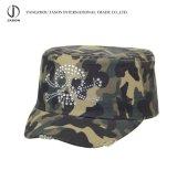 Tampão militar de Fidel do algodão do tampão do lazer do chapéu da forma do tampão de Fidel camuflar do tampão de Camo