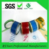 Cinta impresa con la cinta de acrílico modificada para requisitos particulares del embalaje para el lacre del cartón