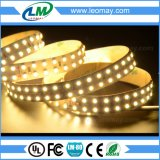 Flexibles Streifen-Licht der LED-Listen-Doppelt-Reihen-LED SMD3528 24VDC