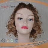 Haut de la soie des cheveux européenne Shevy perruque de travail (PPG-L-01879)