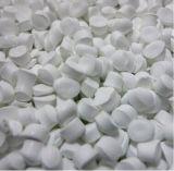 Heet! De Rang van het voedsel Witte Masterbatch van de Rang van het Voedsel Anatase van 20% TiO2 TiO2 de Witte Kleur Witte Masterbatch van Masterbatch/het Blazen 60% TiO2