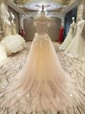キャミソールのウェディングドレスに玉を付ける新しい到着の2017年の結婚
