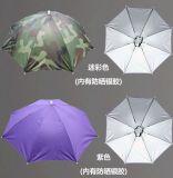 Шлем зонтика Sun дождя малого шлема створки рыб миниый головной