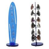 L'acrylique de comptoir Présentoir lunettes rotatif (détient 12 paires)