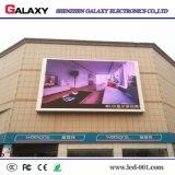 Visualización de LED P10/pantalla/cartelera/muestra/el panel al aire libre con la alta definición