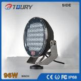 Lámpara al aire libre auto del trabajo de las luces de conducción del CREE 96W LED para el coche