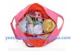 Bolsa ao pó de poliéster ao ar livre Bolsa impermeável para organizador de fraldas para bebês