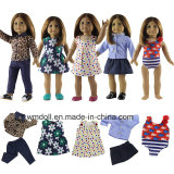18 인치 미국 소녀 인형 다시 태어난 아기 인형 소녀 선물 장난감