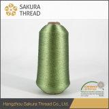 Tipo cuerda de rosca metálica del MX de Sakura del poliester para el bordado de la marca registrada