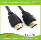 Zwarte 1m HDMI aan HDMI Kabel met 3D Audio Ethernet