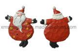 Presentes de suspensão da decoração do Figurine de Santa da resina