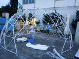 Barraca da casa da abóbada Geodesic do Igloo do espaço livre do fabricante da barraca para o partido
