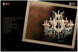 Goldener Klipp-heißer Verkaufs-Kristallleuchter-Licht