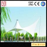 Pabellón compartido tela del espacio de la tienda de la estructura de la membrana del bosquejo del paisaje