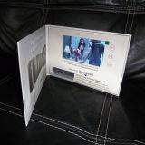 Carte de voeux électronique/Dossier de carte pour cadeau de promotion de mariage de l'écran LCD