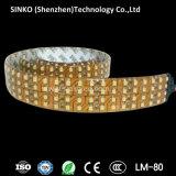Alta luminosità quattro righe che illuminano la flessione della striscia di 3528 360LEDs/M LED con 5 anni di garanzia