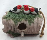 Mobilia dell'ornamento del mestiere del giardino del bagno dell'alimentatore dell'uccello