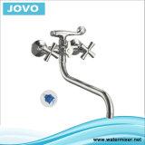Mélangeur de baignoire et de douche à double manchette Top Sale, Jv 74402