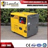Diesel van de Macht van de Macht van de eenheid 50Hz 7kVA 7kw de Geluiddichte Reeks van de Generator