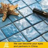 Het Ceramische Mozaïek van de Vorm van de golf voor Zwembad 6mm (het Zwemmen P A01/P A02/P A03)