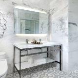Miroir lumineux par DEL de luxe à extrémité élevé allumé de mur de salle de bains