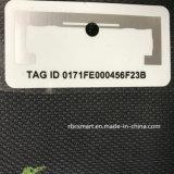 Extranjero H3 RFID Tag ID engomada / etiqueta adhesiva de antena inteligente etiqueta