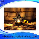 Castiçal creativo por atacado do metal para o dia de Natal/decoração Home