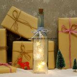 Blancos calientes de la batería del AA de la luz de las estrellas de la familia de los amigos encienden para arriba a compañero del trabajo del regalo de cumpleaños de la Navidad de la botella