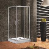 Ausgeglichenes Glas Suqare Doppelt-Schiebetür-Dusche-Luxuxgehäuse
