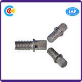 Acciaio al carbonio di DIN/ANSI/BS/JIS/vite di acciaio inossidabile di rotolamento per costruzione/viti ferroviarie dei fermi di industria del macchinario