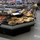 スーパーマーケット水平肉表示デリカテッセン冷却装置