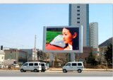 Ce CCC RoHS P10 DIP affichage LED en couleur de plein air pour la publicité de panneaux