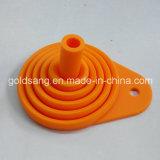 Usine de la vente directe en silicone pliable portable Mini filtre entonnoir