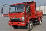 Sinotruk 판매를 위한 새로운 Huanghe 4X2 경트럭 팁 주는 사람 6 바퀴 덤프 트럭