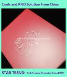 Cartão de PVC ENVERNIZADO UV no local com a fidelidade de tarja magnética