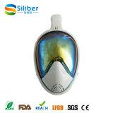 Regenbogen-Spiegel-Objektive 180 Grad panoramische Seaview volle Gesichtsmaske für Snorkel